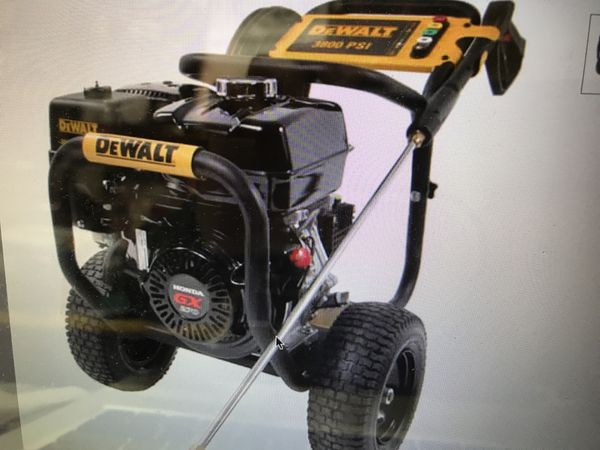 DeWalt Pressure Washer 3800 psi 3.5 GPM GX270 engine. Model 3835 New in Box (stock photo)
