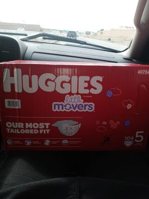 Size 4 huggies for Sale in Aurora, CO