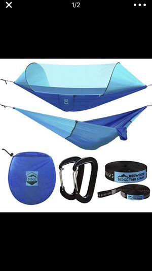 Camping hammock with mosquito netting for Sale in Milton, FL