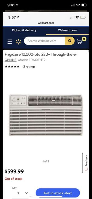 Frigidaire 10,000-btu 230v for Sale in The Bronx, NY