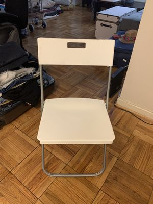 white chair for Sale in Washington, DC