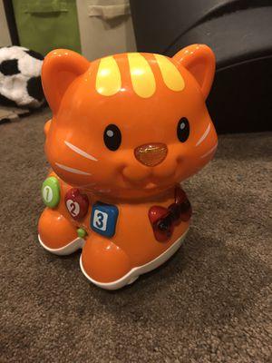 Vtech infant kitty toy for Sale in Kearneysville, WV