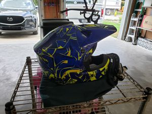 ATV / Dirt bike helmet and Goggles for Sale in Oviedo, FL