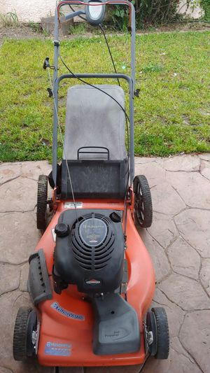 Auto walk lawn mower husqvarna 6.75 for Sale in Manteca, CA