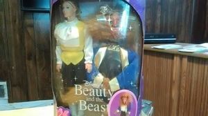 Vintage Disney beauty and beast dolls and little mermaid for Sale in District Heights, MD