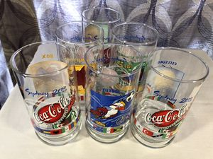 Collectible Glasses Variety 16oz From 1985. $15 each for Sale in Perris, CA