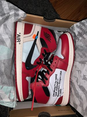 Off White Chicago 1s for Sale in Tacoma, WA