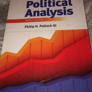 Political Analysis Fourth Edition for Sale in Tampa, FL