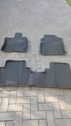 Acura RDX Rubber Floor Mats (OEM) for Sale in Miami, FL