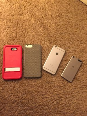 Iphone 6s+ galaxy j7 perx iPhone 6 ipod for Sale in Lanham, MD