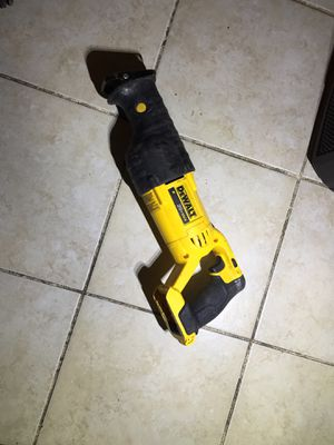 DeWALT 20V MAX DCS380 VARIABLE SPEED RECIPROCATING SAW for Sale in Silver Spring, MD