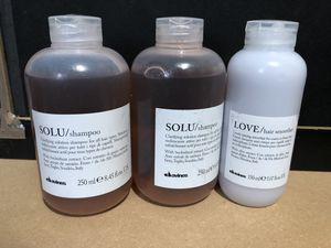 2 New Davines Solu clarifying shampoo solution and 1 new Davines lovely hair smoother f for Sale in Seattle, WA
