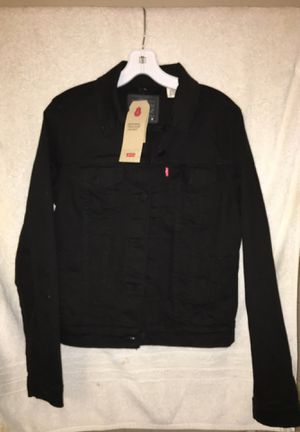 Women's Levi's black Jean jacket *BRAND NEW* *TAGS ON* **NEVER WORN** for Sale in San Francisco, CA