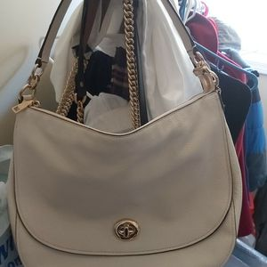 NEW Authentic COACH Leather Shoulder Hobo Bag for Sale in Alpharetta, GA