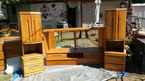 Orman grubb oak bedroom furniture For sale.