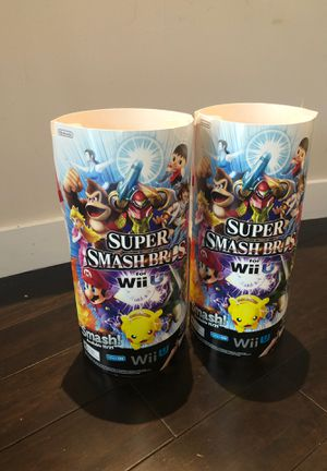 Two Nintendo Super Smash Bros. For Wii U Store Display for Sale in Phoenix, AZ