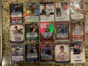 LOT of 125 Baseball AUTO Autographs ALL Pack Pulled NO PressPass Sage #d SP's RC for Sale in Salem, OR