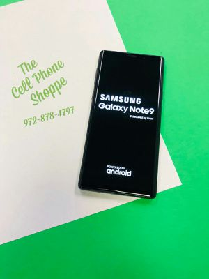 Samsung Galaxy Note 9 Unlocked 128gb OnSale! for Sale in Carrollton, TX