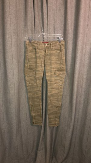 Women's Lucky Brand camouflage print stretch cargo skinny pants for Sale in San Diego, CA