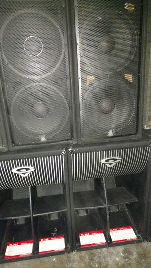 Jbl speakers Cervin Vega speakers rack amplifiers for Sale in Beaverton, OR