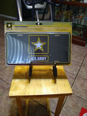 US army license plate for Sale in Lakeland, FL