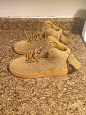 Nike Air Force 1 Wheat Size 8 New Never Worn for Sale in Bronx, NY
