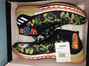 Dame bape adidas for Sale in Chicago, IL