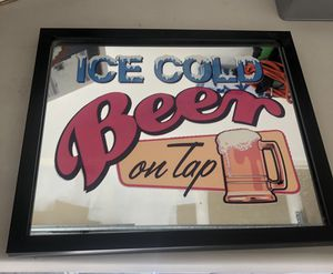 Bar mirror wall hanging for Sale in Las Vegas, NV