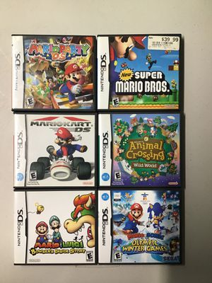 Nintendo ds games (only Mario party and Mario kart $45) for Sale in Miami, FL