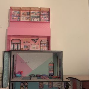 LOL DOLL HOUSE AND DISPLAY SET ADDED for Sale in Lakewood, CA