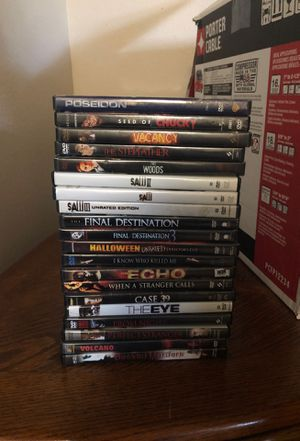 Scary Movie collection for Sale in Everett, WA