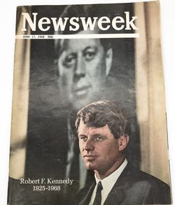 ✅ Look, Life, Newsweek Magazines 1963, 1967, 1968 Kennedy Assassinations, LBJ for Sale in Park Hills,  KY