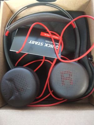 3 Plantronics BW7225 USB-A Headset for Sale in Anaheim, CA