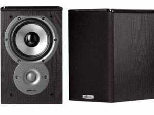 Polk Audio TSI100 Bookshelf Speakers (Pair, Black) for Sale in Everett, WA