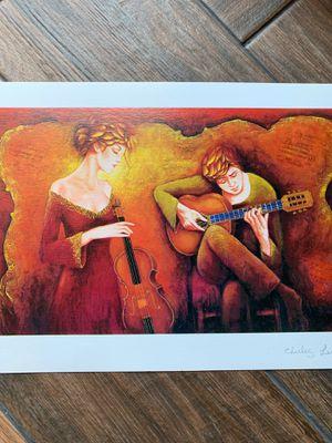 Charles Lee Violin Guitar Artwork Music for Sale in DW GDNS, TX