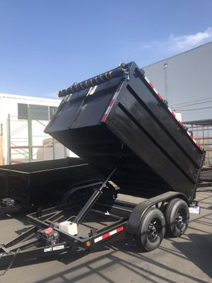 Brand new 8x10x4 dump trailer for Sale in Rancho Cucamonga, CA