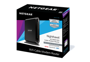 BRAND NEW! › › NETGEAR® Nighthawk™ DOCSIS 3.0 (AC1900) Cable Modem Router for Sale in Washington, DC