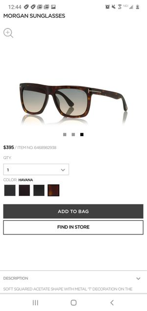 Tom Ford Morgan sunglasses for Sale in Las Vegas, NV