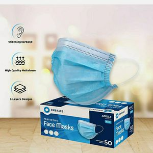 100 Pcs Face Mask Mouth & Nose Protector Respirator Masks with Filter for Sale in Ardmore, PA