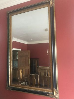 Formal black and gold mirror. for Sale in South Boston, VA