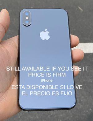 IPhone X 64g Unlocked. READ DESCRIPTION & ASK / LEA DESCRIPCIÓN & PREGUNTE for Sale in San Leandro, CA