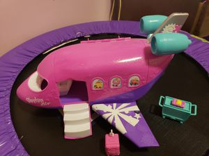 Shopkins/ Jet Plane for Sale in Raleigh, NC