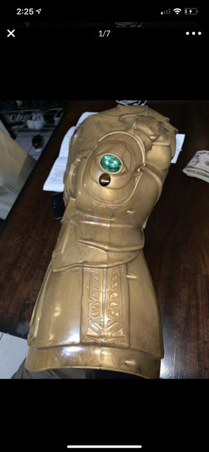 Avengers infinity gauntlet for Sale in Los Alamitos, CA