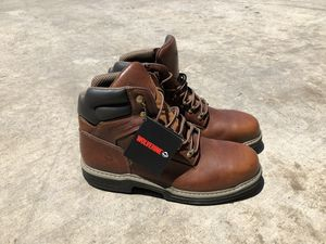 Brown Wolverine Multishox Work Boots for Sale in Dallas, TX