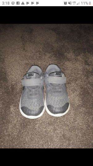 Like new toddler size nike shoes for Sale in Harrisburg, AR