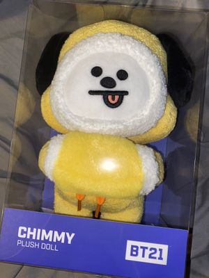Official BT21 Cimmy 2019 winter standing plushie for Sale in Chula Vista, CA
