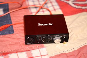 Focusrite Scarlett Solo (2nd Gen) USB Audio Interface with Pro Tools for Sale in San Jose, CA
