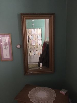 Furniture/Mirror/antique for Sale in Pittsburgh, PA