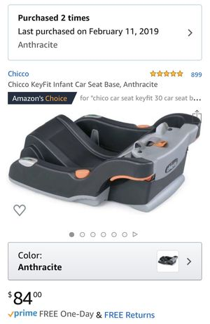 2019 Chicco KeyFit Infant Car Seat Base for Sale in Miami, FL
