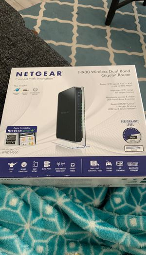 Netgear wireless router for Sale in Wildomar, CA